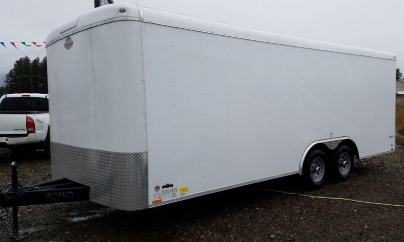 2017 Cargo Mate BL820TA3 Enclosed Cargo Trailer