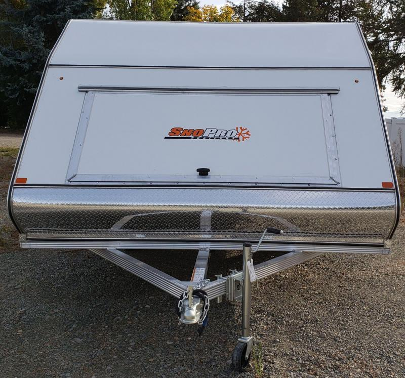 2019 Snopro Hyrid Snowmobile Trailer