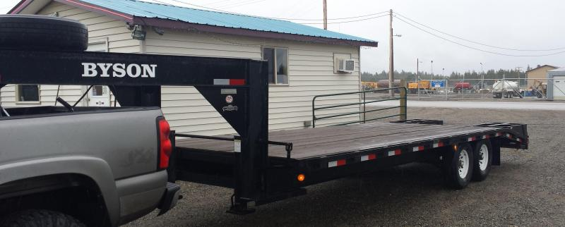 2003 Bison  24' GN Equipment Trailers - #79034
