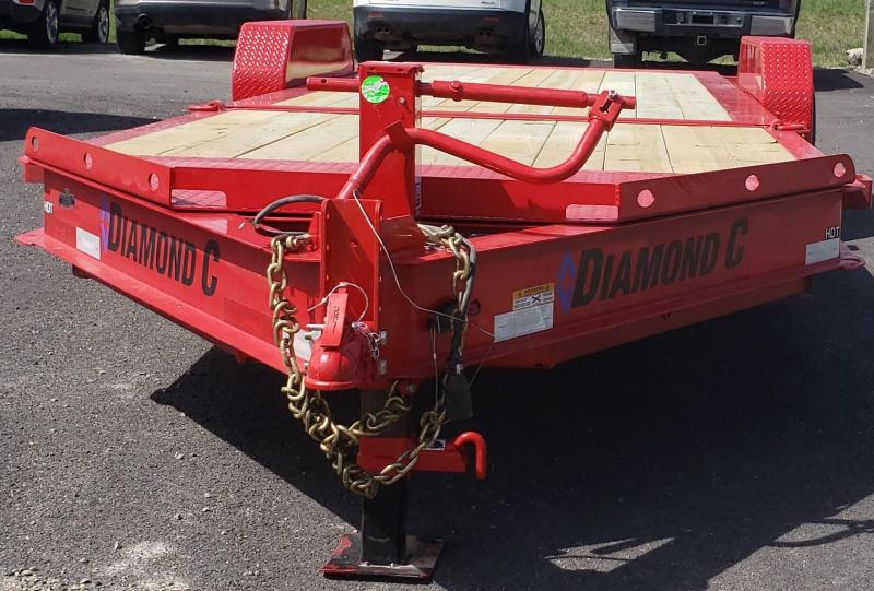 2019 Diamond C Trailers HDT207-L82x22 Equipment Trailer