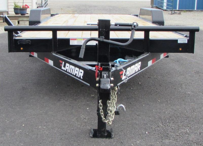 2019 Lamar Trailers TD832027 Equipment Trailer