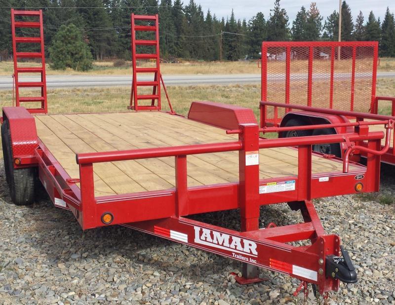 2016 Lamar Trailers CH8318702 Equipment Trailer