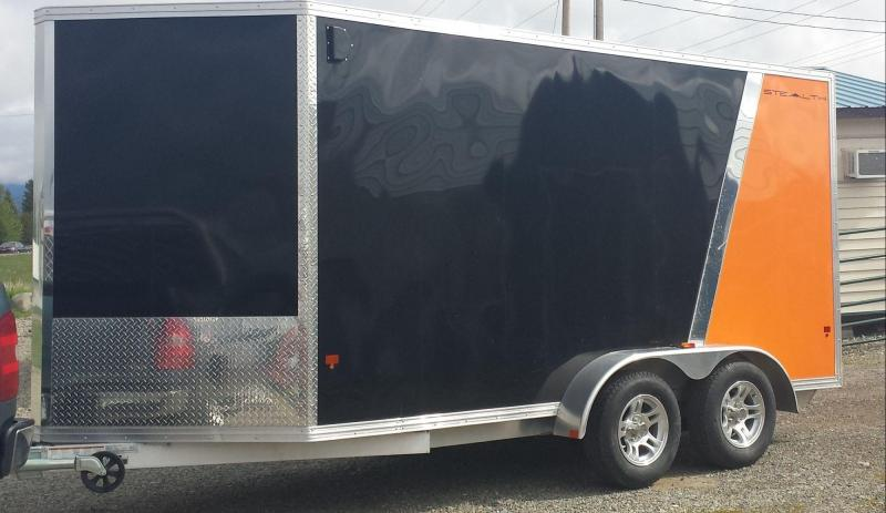 2016 CargoPro Trailers C714 Stealith Enclosed Cargo Trailer