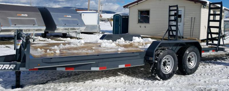 2018 Lamar Trailers H6831827 Equipment Trailer