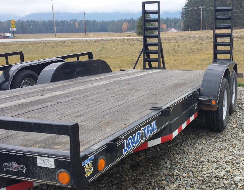 2012 Load Trail CH831852 Equipment Trailer
