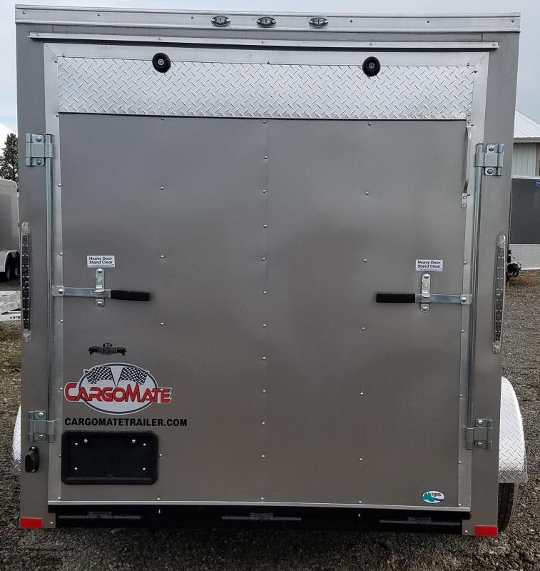 2018 Cargo Mate CH610SA Enclosed Cargo Trailer