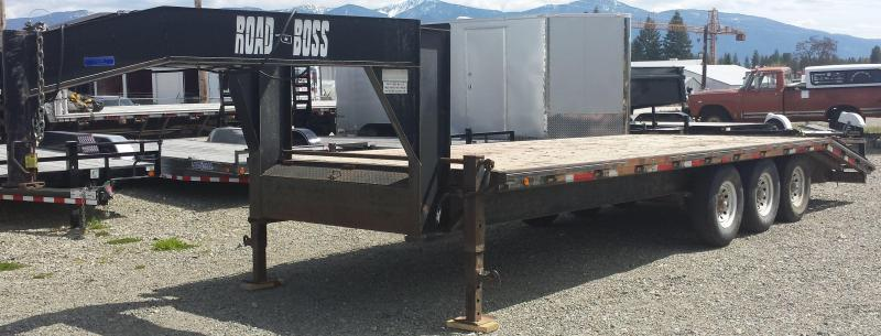 2001 Roadboss 25' GN Equipment Trailer - #00168