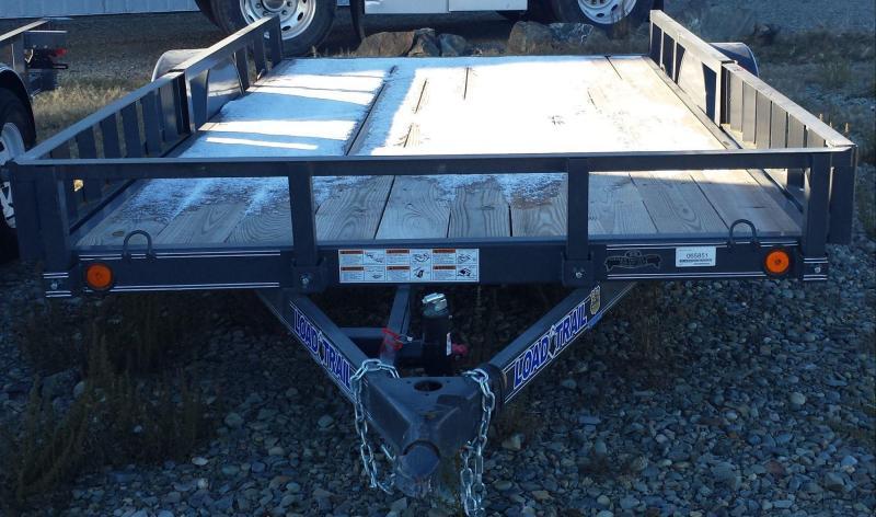2014 Load Trail SA7712S Utility Trailer
