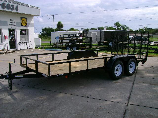 Triple Crown 6.5x16 Tandem Utility Trailer with BRAKES