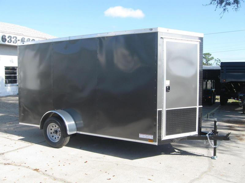 6x12 Trailer Therma Cool V-Nose Enclosed Cargo Trailer