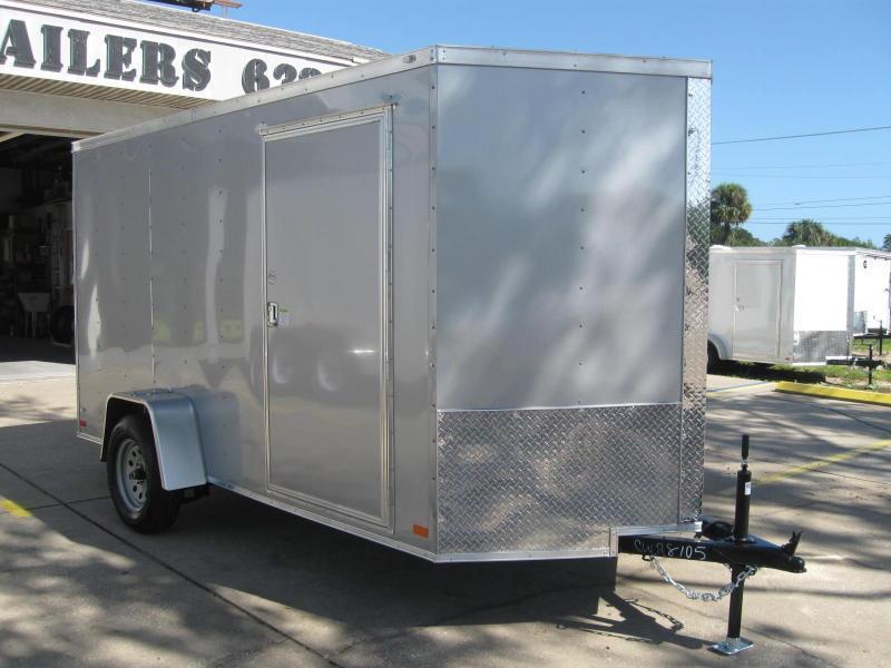 2018 Covered Wagon GM612SAV Enclosed Cargo Trailer