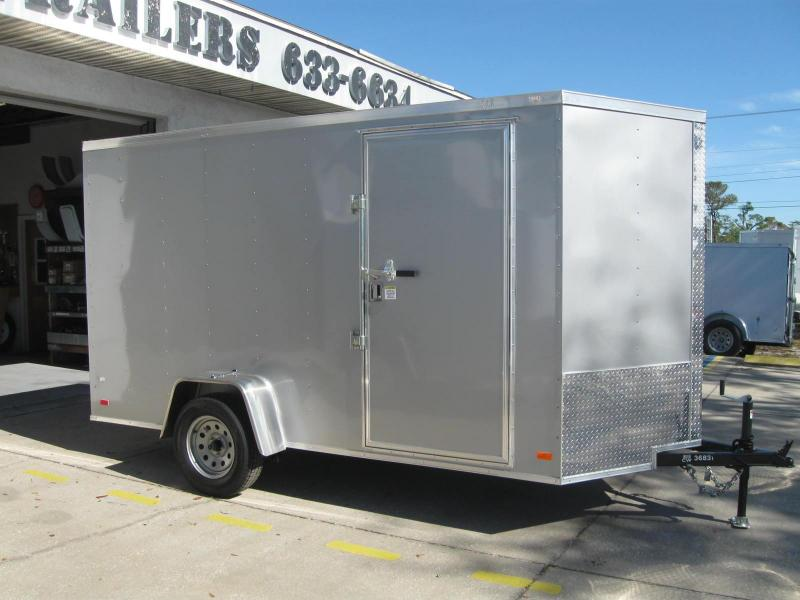 NEW 2018 Contractor Series Cargo Trailer 6X12 V-Front