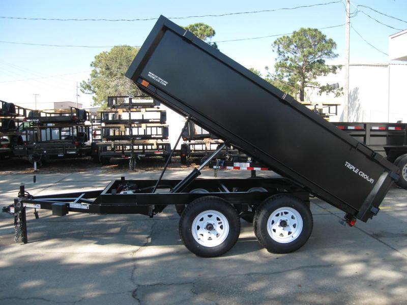 6x10 Dump Trailer 7K GVWR