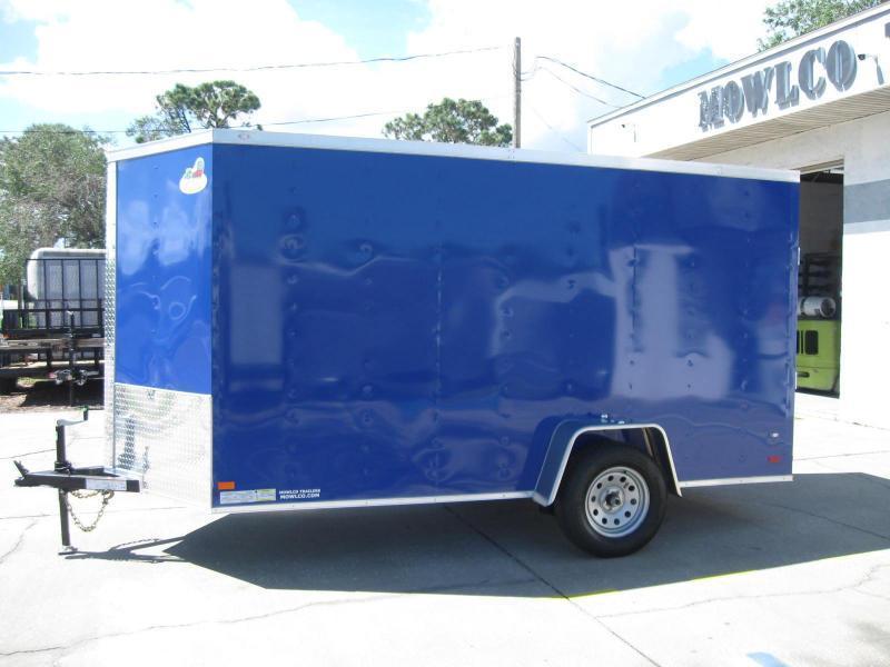 2018 Covered Wagon 6X12SA-V Enclosed Cargo Trailer