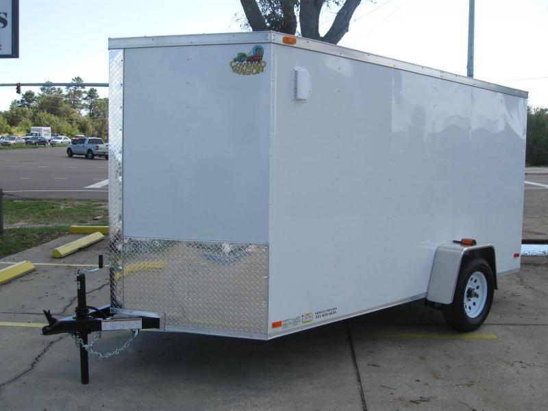 2018 Covered Wagon SS612SAV Enclosed Cargo Trailer