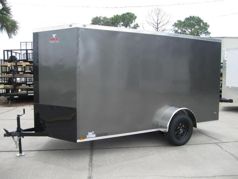 6X12 V-Nose Enclosed Cargo Trailer