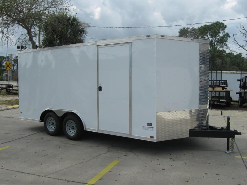 2017 Anvil 8.5X16TA-V Enclosed Cargo Trailer