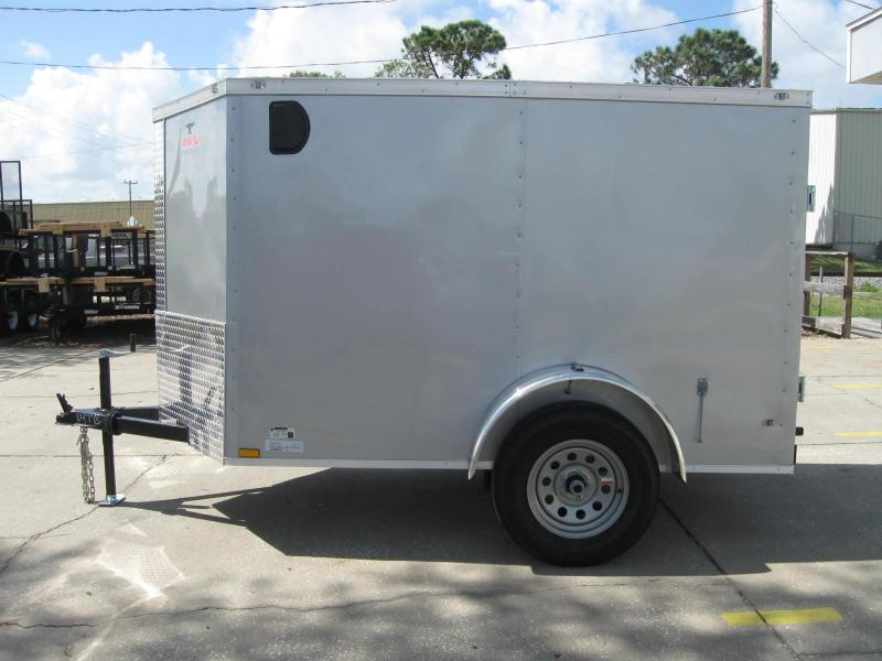 2018 Anvil 5X8SA-V Enclosed Cargo Trailer