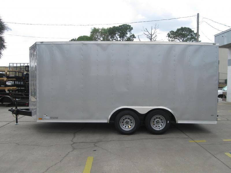 2018 Anvil 8.5X16TA-V Enclosed Cargo Trailer