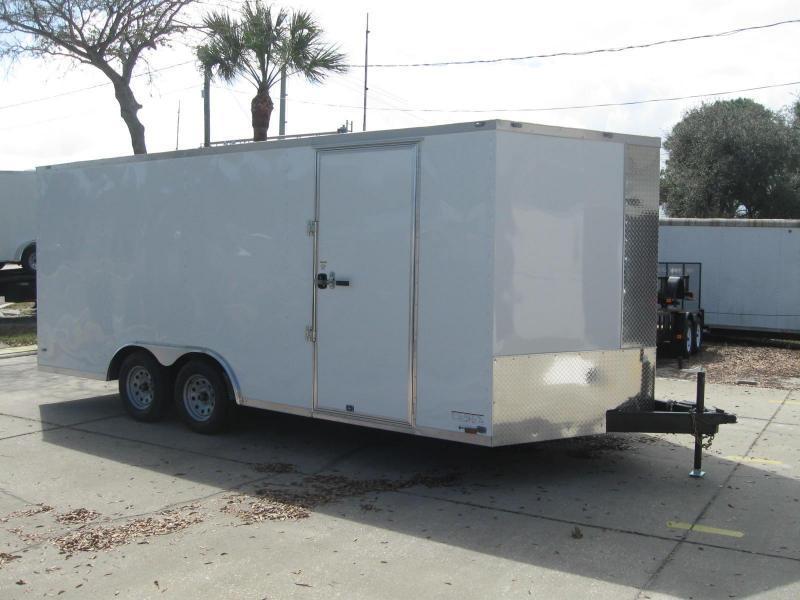 8.5x18 V-Nose Enclosed Cargo Trailer