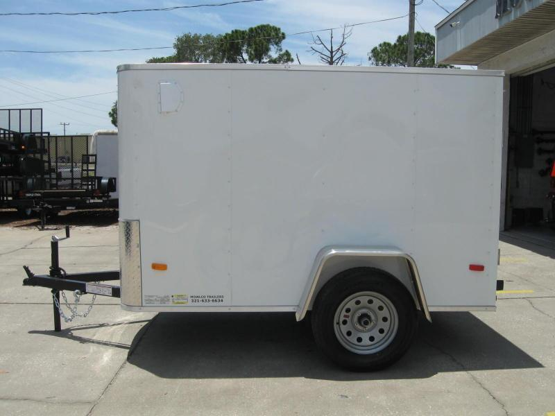 2018 Covered Wagon 5X8SA Enclosed Cargo Trailer