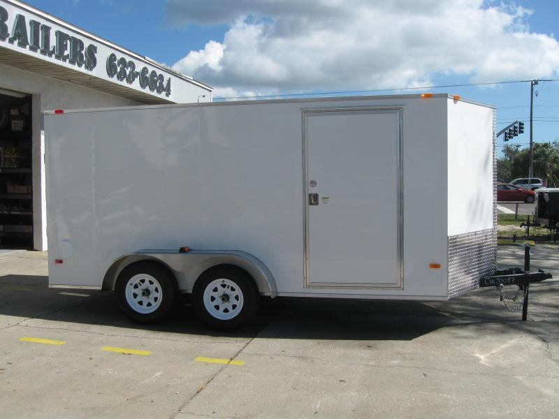 2018 Covered Wagon SS714TAV Enclosed Cargo Trailer