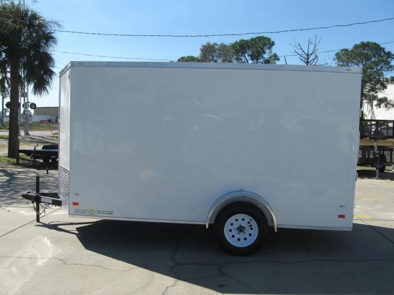 2018 Covered Wagon GM712SAV Enclosed Cargo Trailer