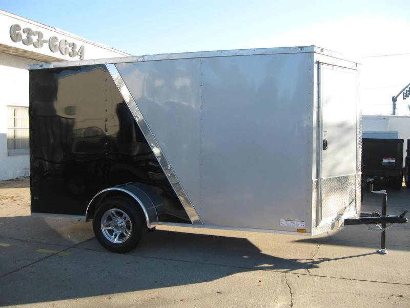6x12 Trailer Therma Cool 2-Tone V-Front Flash Package