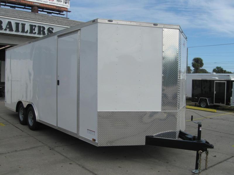 2018 Anvil 8.5X20TA-V Enclosed Cargo Trailer