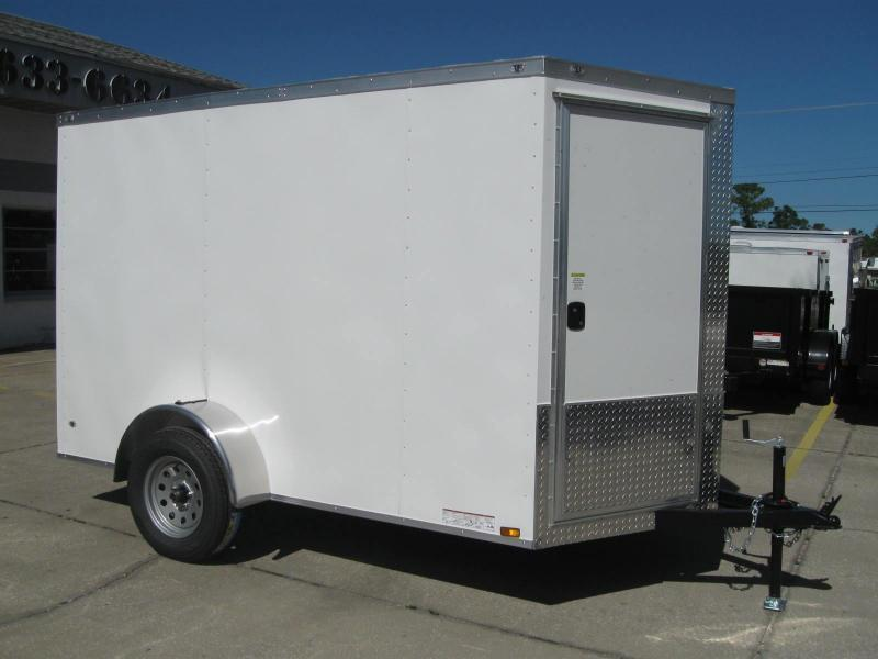 6x10 Trailer Therma Cool V-Front Enclosed Cargo Trailer