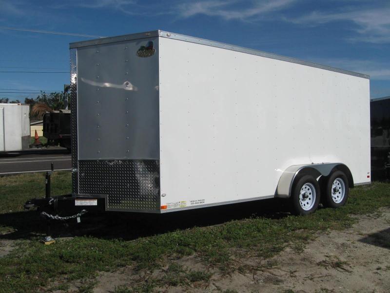 2018 Covered Wagon Trailers GM716TAV Enclosed Cargo Trailer
