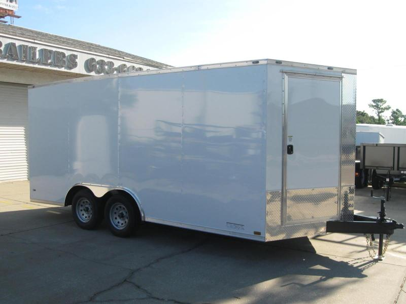 2019 Anvil 8.5X16TA-V Enclosed Cargo Trailer