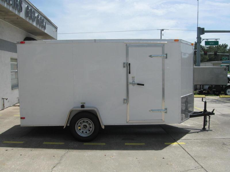 NEW 6x12 Enclosed Cargo Trailer V-Nose