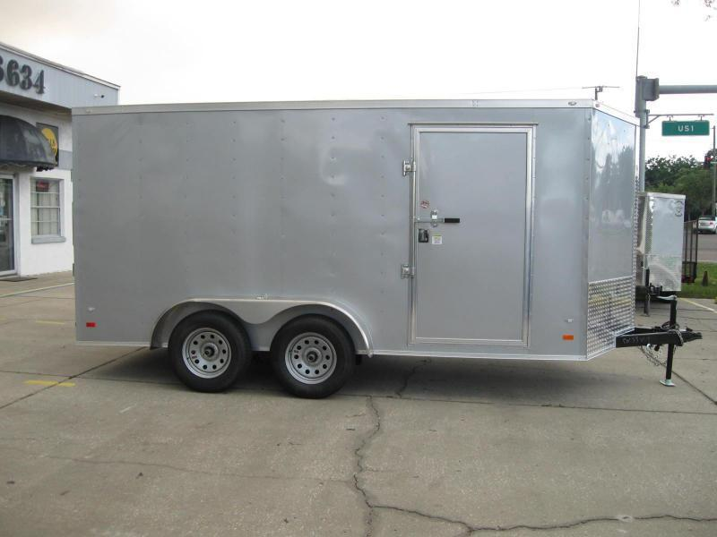 7x14TA V-Front Gold Series Enclosed Cargo Trailer