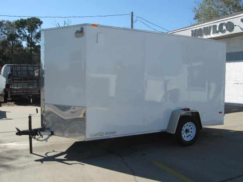 2018 Covered Wagon SS612SAV Enclosed Cargo Trailer BARN DOORS