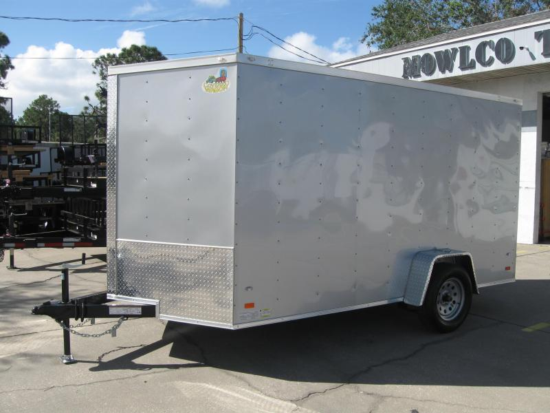 2018 Covered Wagon GM712SAV Enclosed Cargo Trailer