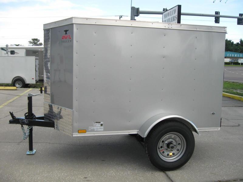4x6SA-V Enclosed Cargo Trailer