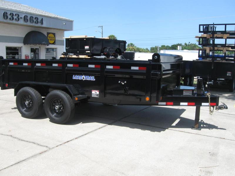 NEW Dump Trailer Load Trail 7x14 HD 14K / 7 Ton