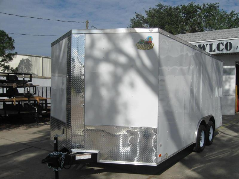 2017 Covered Wagon GM8.5X16TAV Enclosed Cargo Trailer