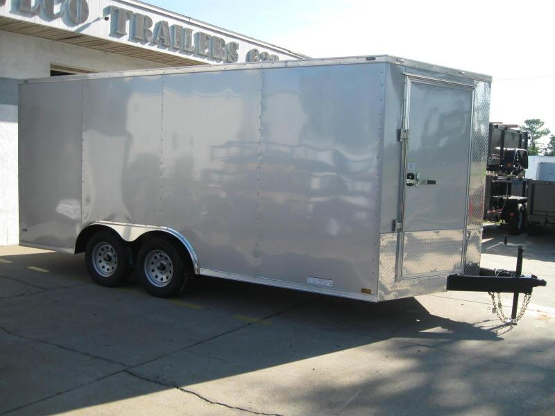 2019 Anvil 8.5X16TA-V Enclosed Cargo Trailer .030 Exterior