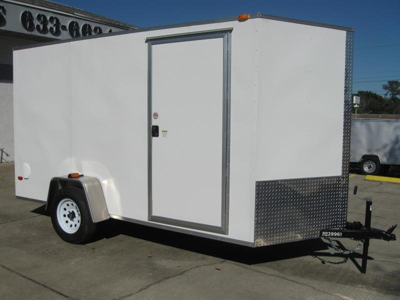 2018 Covered Wagon SS612SAV Enclosed Cargo Trailer