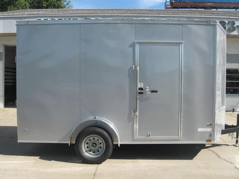 7x12 Trailer Therma Cool V-Nose Enclosed Cargo Trailer 7' TALL