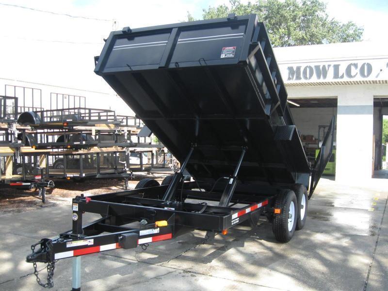 7x14 HD Dump Trailer 14K GVWR