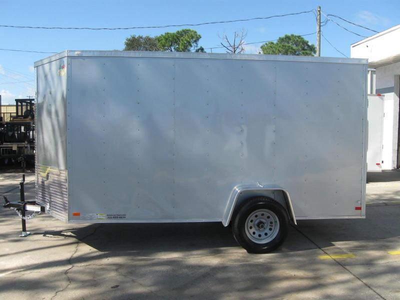 2018 Covered Wagon GM612SAV Enclosed Cargo Trailer