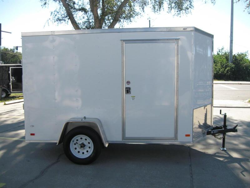 2018 Covered Wagon Trailers GM610SAV Enclosed Cargo Trailer