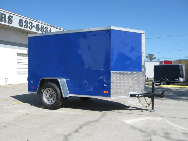 Enclosed V-Nose Cargo Trailer