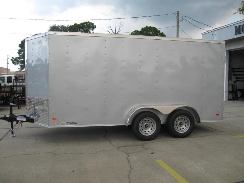 2018 Covered Wagon GM714TAV Enclosed Cargo Trailer