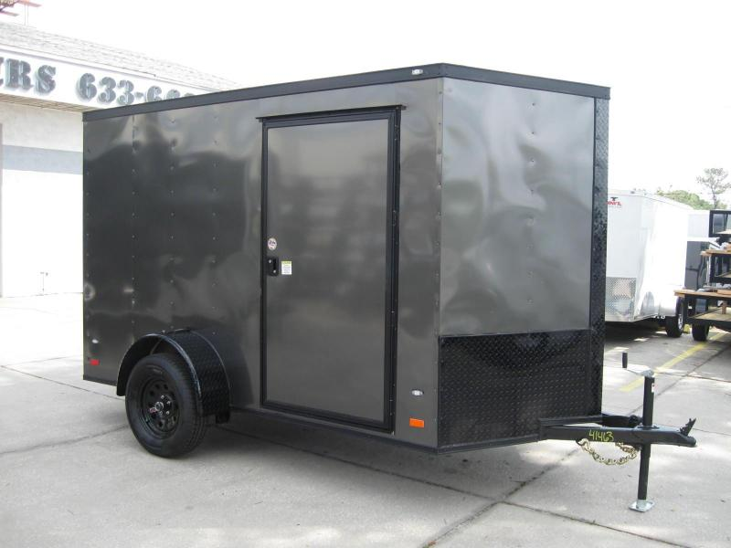 2018 Covered Wagon GM610SAV Enclosed Cargo Trailer