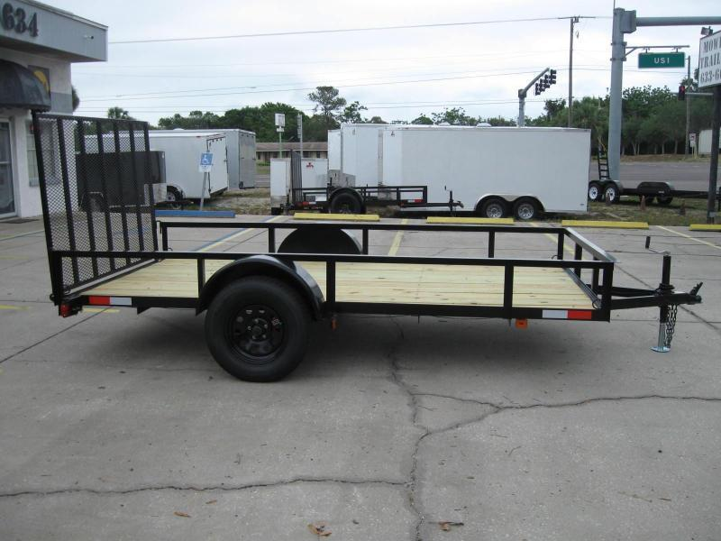 2019 Triple Crown 6.5x12 DLX Utility Trailer