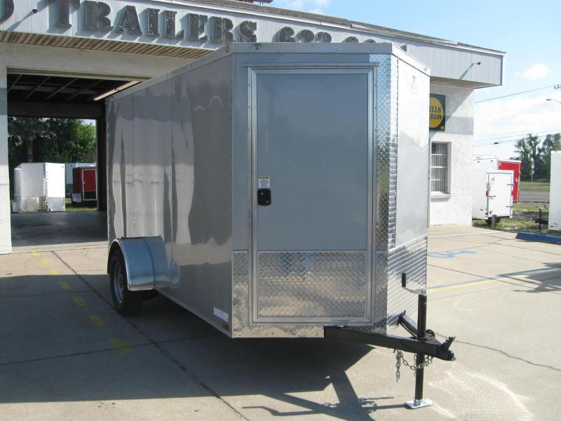 6X12 Trailer Therma Cool V-Front Enclosed Cargo Trailer